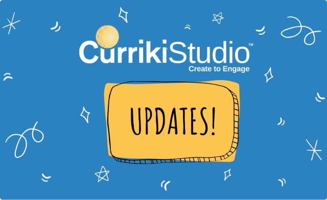 What's New With CurrikiStudio? Updates as of November 2020